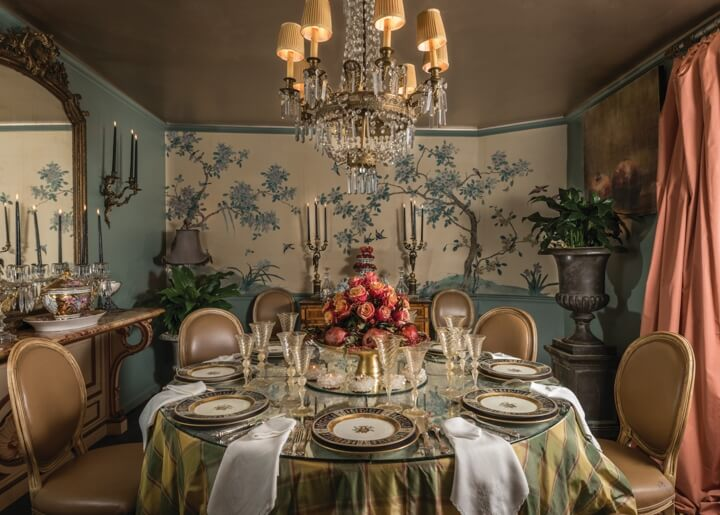 Dining room designs for the holidays 4memphis magazine for Restaurants serving thanksgiving dinner near me 2017