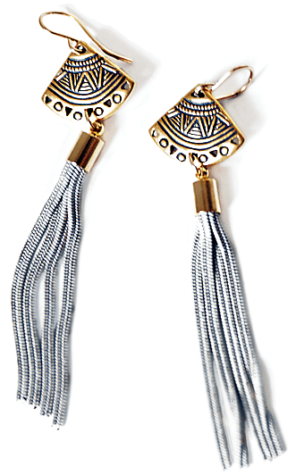 Two-Toned Danglers
