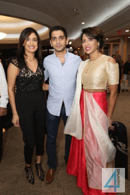 Drs. Nishel & T.J. Patel with Dr. Purvisha Patel