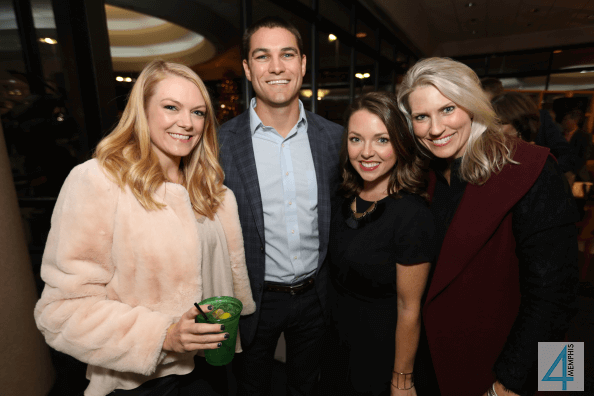 Lindsey Devers with Austin, Sarah & Angela Acuff