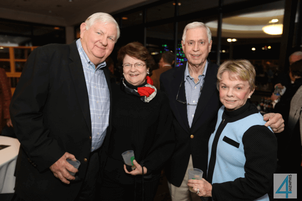 Max & Elizabeth Ostner with Charles & Mary Cape