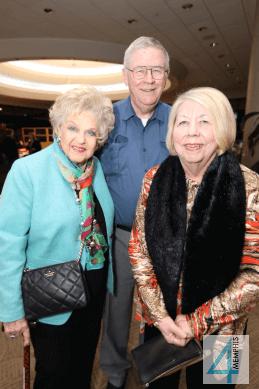 Tommie Pardue with Nat & Pat Ellis