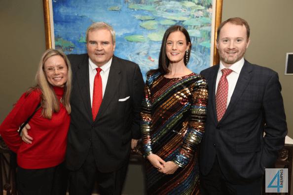 Malinda & Buck Lewis with Laura & John McCann