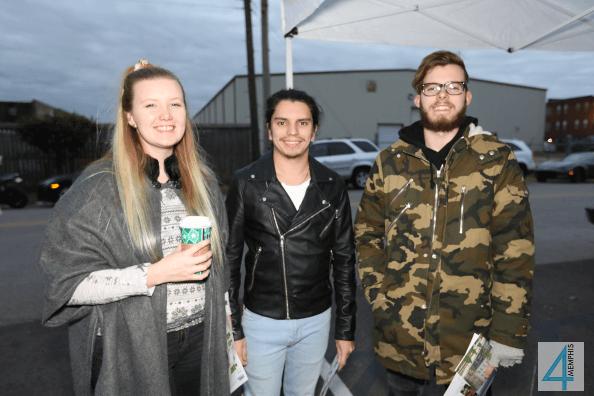 Sarah Granquist, Dickson Alier & Jeremy Calame
