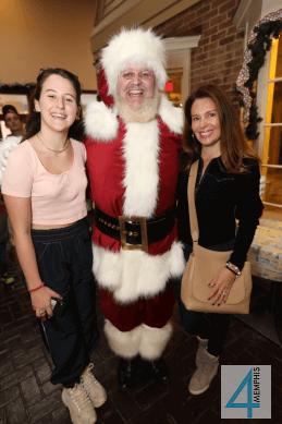Alessandra Heros with Santa & Lucia Heros