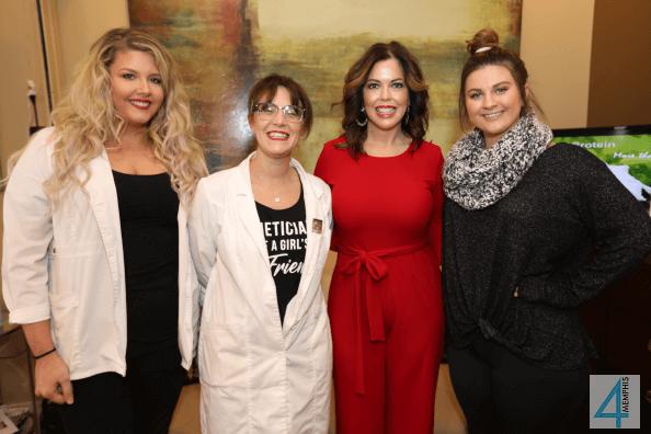 Natalie Besinger, Robin Thoda, Renee Pinlac & Devan Mullen