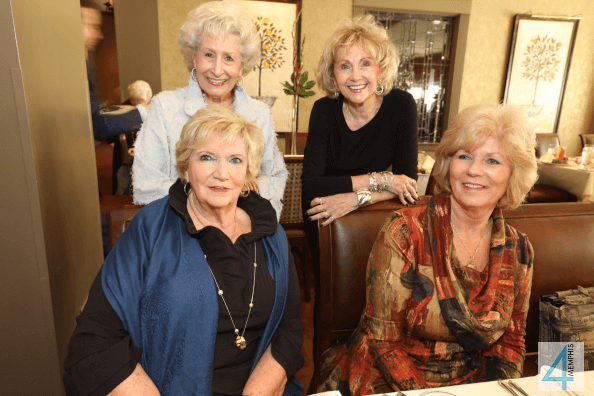 Billie Jean Graham, Pat Massingell, Nancy Bramlett & Brenda Lynn
