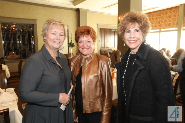Anne Johnson, Pat Caldwell & Harriet Strasberg