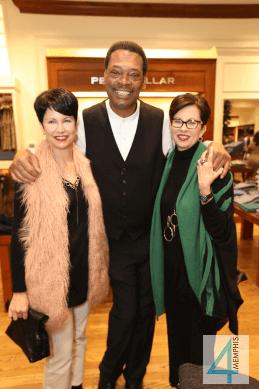 "Cathy Farrell, Melvin ""Too Tall"" Moore & Marcia Hughes"