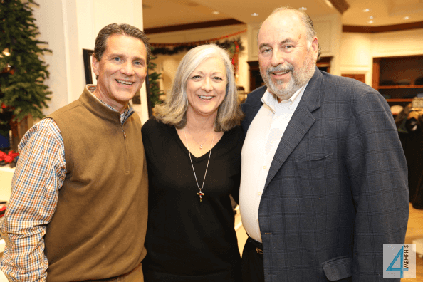 Pete Williams with Cindy & Frank Childress