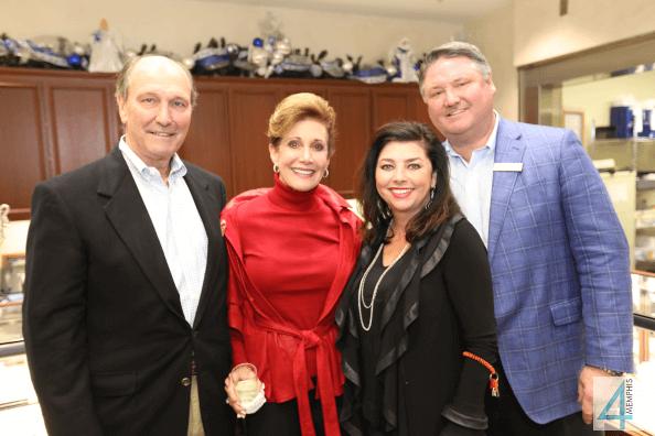 Ray & Betha Gill with Sharri & Bill Jones