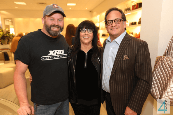 Chad Jones with Barrie & Kevin Wurzburg