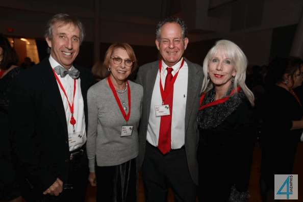 Noel & Maxine Oliver with Bob & Cynthia Thomas