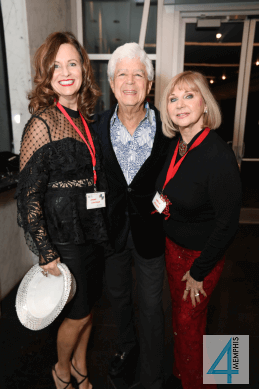 Joanie & Michael Lightman with Sheila Wilson