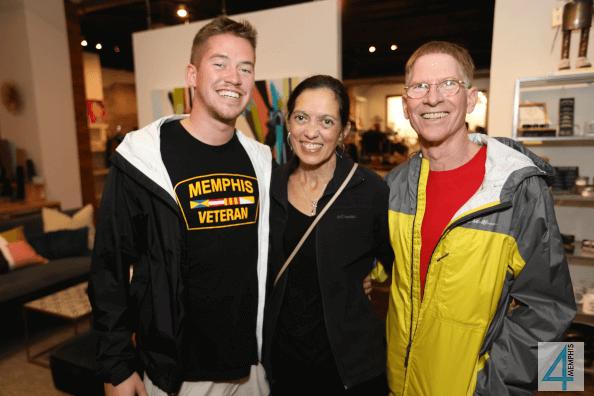 Eric, Liz & David Bourgeois
