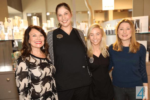 Susan Macchiarella, Kerri Manning, Emily Shelton & Virginia Cupples