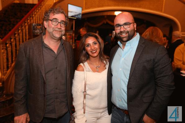 Sarko Kish with Sidra & Steven Mansour