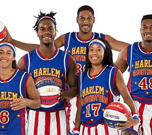 Harlem Globetrotters at the FedEx Forum in Memphis