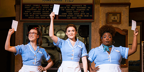 Waitress at the Orpheum