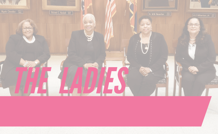 The Ladies of the Memphis City Council