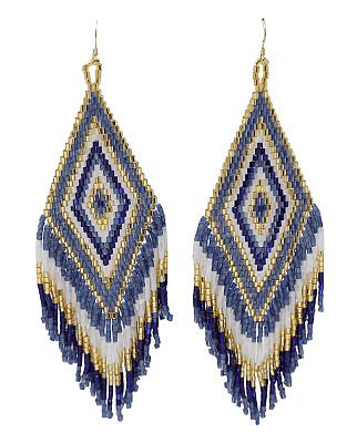Chainmail earrings from Eden Spa