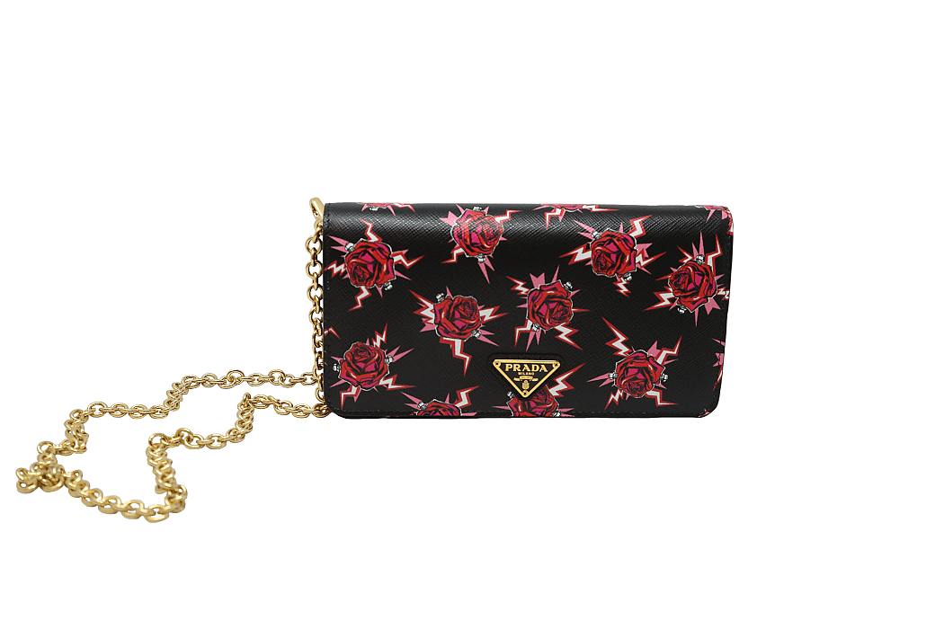 Floral print purse from Joseph in Laurelwood
