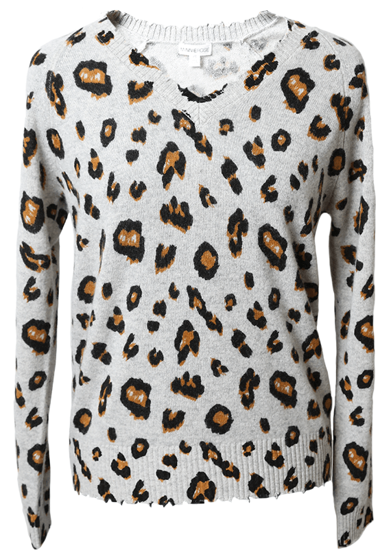 Leopard sweater from Kittie Kyle