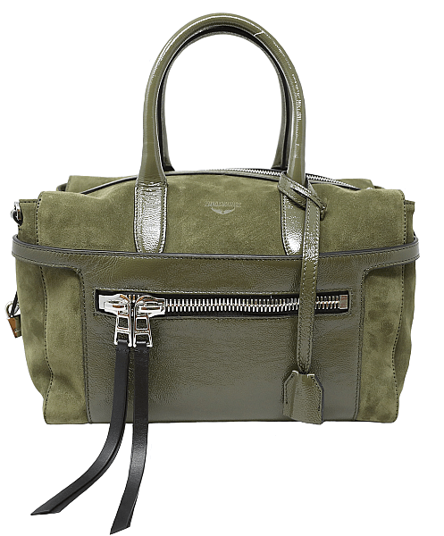 Olive green bag from Oak Hall