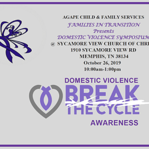 Break the Cycle Awareness Event