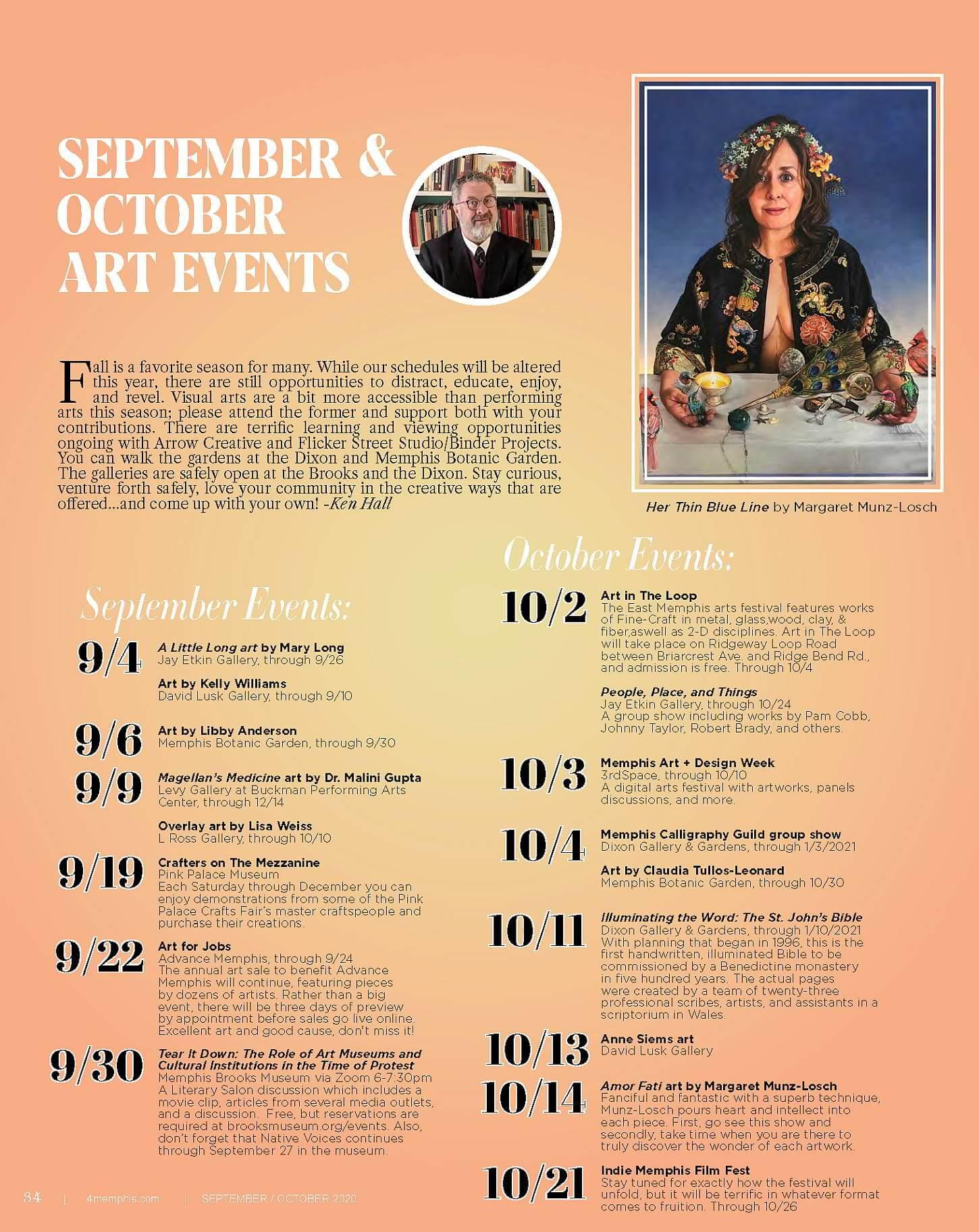 4Memphis Sept._Oct. 2020 Art Events