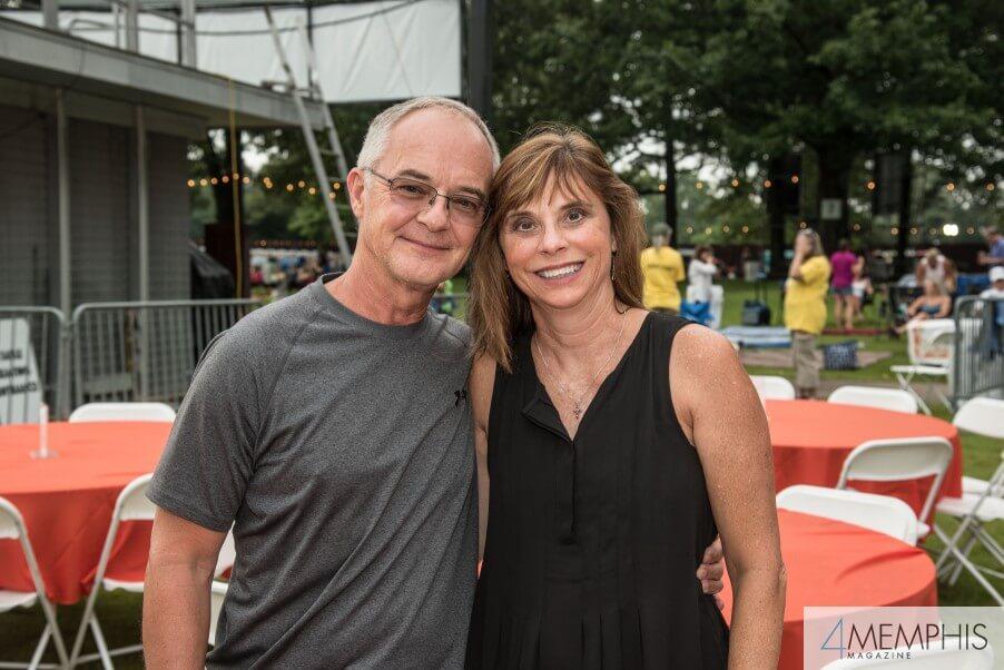 Tony & Belinda Howell attending Brad Paisley Live at the Garden