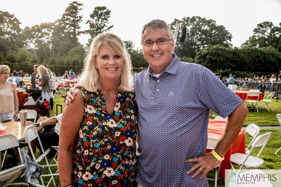 Valerie & Tom Rainwater attending Brad Paisley Live at the Garden