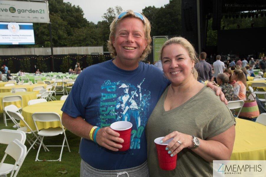 Bethany & Scott Goolsby attending Brad Paisley Live at the Garden
