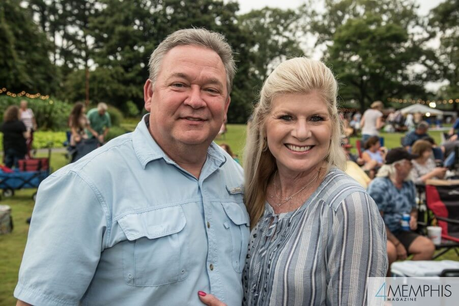 Forrest & Tami Smith attending Brad Paisley Live at the Garden